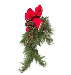 Comment décorer la porte d'entrée à Noël - 6 étapes