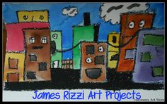 James Rizzi art projects @harmonyfinearts.org
