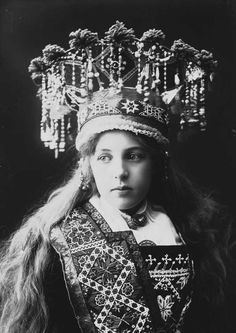 Norwegian Sunday: Bridal Crowns – Part V, Photography – Wings of Whimsy Folk Clothing, Historical Clothing, Victorian Photos, Vintage Photos, Antique Photos, Portrait Photography, Fashion Photography, Photography Tips, Street Photography