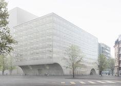 Caruso St John designs for university laboratory in Basel