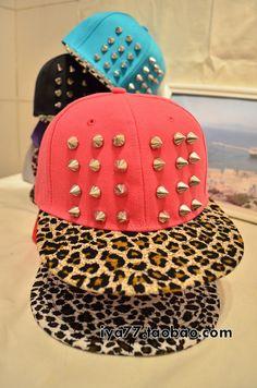 5d2131858d3 Image of fashion Leopard grain rivet cap hat. Treharne Woolfrey · Cool caps