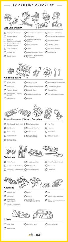Backpacking Checklist Template  Amazing Hiking Gear