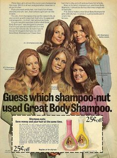 Kim Basinger (upper right) for Clairol, also looks like MARY BETH EVANS on upper left. Best known as Kayla on Days Of Our Lives. Vintage Makeup Ads, Retro Makeup, Vintage Beauty, Vintage Ads, Vintage Trends, Vintage Models, Vintage Stuff, Retro Advertising, Retro Ads