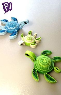 Pintaideas Filigree sea turtle, Quilling s - Quilling Ideas Quilling Letters, Quilling Work, Paper Quilling Flowers, Paper Quilling Patterns, Paper Quilling Jewelry, Quilling Paper Craft, Paper Quilling Tutorial, Quilling Animals, Turtle Crafts