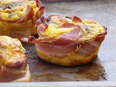 Chic, chic, chocolat...: Muffins d'automne: potimarron, champignons et lard fumé