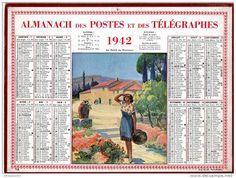 Calendrier_des_Postes_1942_Au_soleil_de_Provence.jpg (1932×1460)