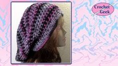 how to crochet a hat - YouTube