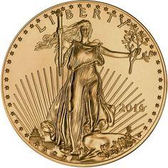 2016 1 oz. American Gold Eagle (BU)