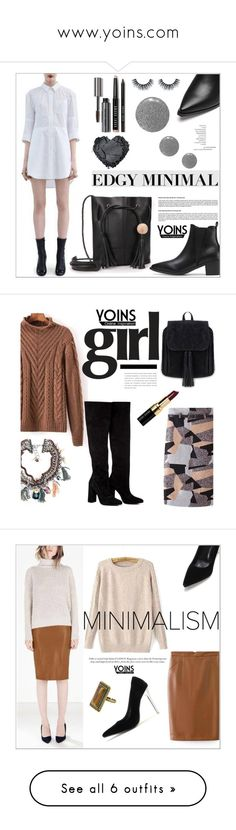 www.yoins.com by deeyanago on Polyvore featuring polyvore, fashion, style, Bobbi Brown Cosmetics, Topshop, yoins, Anouki, Chicnova Fashion, Giuseppe Zanotti, Anne Klein, Tom Ford, Laurence Dacade, STELLA McCARTNEY, By Terry, Kate Spade, Damsel in a Dress, JY Shoes and Bare Escentuals