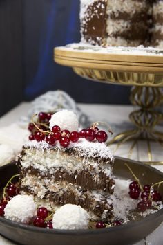 St[v]ory z kuchyne Sweet Recipes, Tiramisu, Panna Cotta, Food And Drink, Veggies, Ethnic Recipes, Cakes, Health, Image