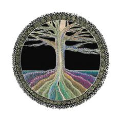 Tree of Life Cross Stitch Printable Needlework Pattern - DIY Crossstitch Chart, Relaxing Hobby, Instant Download PDF Design