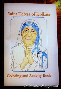 mother teresa coloring book