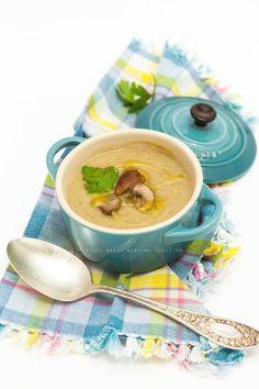 Crema di funghi e patate #LeCreusetItalia