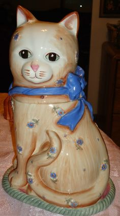 Gibson cat cookie jar