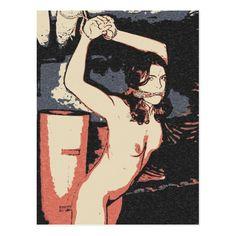 Dark bdsm, bondage art, erotic nude in cellar postcard #fetish #dungeon #Dark #bdsm, #bondage #art, #erotic #nude in #cellar #postcard #kinky #slave #girl @zazzle