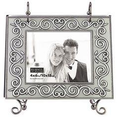 Pewter Heart Vine Flip Photo Album - jcpenney