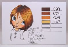Heather's Hobbie Haven: Hair Color 51 - Copic Markers...