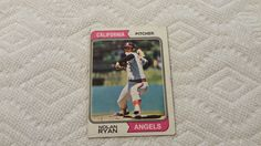 1974 Topps Nolan Ryan single baseball card