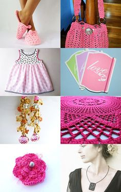 August Trends~A soft blush of pink by bloomingcreations on Etsy--Pinned with TreasuryPin.com