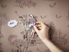 Sian Zeng's magnetic woodlands wallpaper....