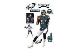 398b6ac5c Nick Foles Fathead Wall Decal Super Bowl Winners, Football Bedroom, Nfl  Philadelphia Eagles,