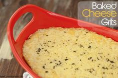 (1) Fancy - Buns In My Oven » Baked Cheese Grits