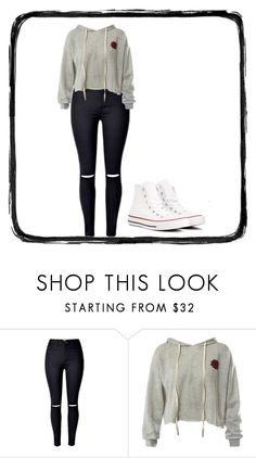 """Untitled #79"" by jocelynhoggans on Polyvore featuring interior, interiors, interior design, home, home decor, interior decorating, Sans Souci and Converse"