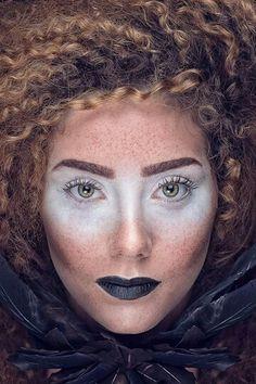 Freckles brown mascara