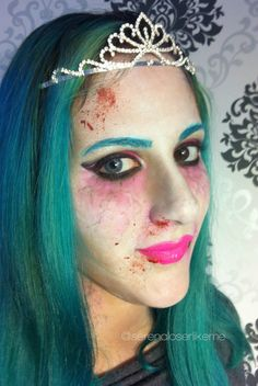 Cartoon Zombie Princess - Halloween Makeup Tutorial  #zombie #princess #zombieprincess #princesszombie #principessa #thewalkingdead #comic #cartoon #makeup #makeuptutorial #principessazombie #americanhorrorstory #KIKO #halloween #halloweenlook #halloweenmakeup #halloweenmakeuptutorial #cosplay #manga #serenaloserlikeme #zombies #zombiemakeup #zombiemakeuptutorial #BHcosmetics #aquacolor #diamondfx #Kryolan #mua #Makeupartist  #youtuber #diadelosmuertos #dayofthedead #death  #trucco