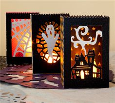 Project Center - Halloween Luminaries