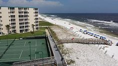 THE PERFECT VIEW & LOCATION TOO, RIGHT OVER THE BEACH!Vacation Rental in Holiday Surf and Racquet Club Destin from @homeaway! #vacation #rental #travel #homeaway  THIS IS IN THE PANHANDLE TOO