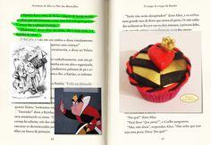 Cupcake Alice no País das Maravilhas (Rainha de Copas). Beijos Açucarados