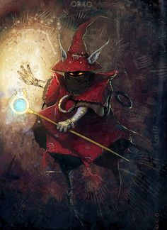 Orko, masters of the Universe - by David Munoz