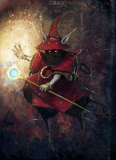 Orko, masters of the Universe - by David Munoz Velazquez
