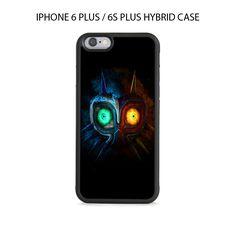 Legend of Zelda Majora Mask iPhone 6/6s PLUS HYBRID Case Cover