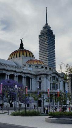 Palacio de Bellas Artes y Torre Latinoamericana