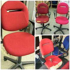 Herstofferen buro stoelen www.visionfurniture.nl de restylers Een tweede leven voor uw meubilair