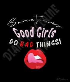 Sometimes Good Girls Do Bad Things - Digital Download - Personal Use Only by DianeMaclaineArt on Etsy Bad Girl Wallpaper, Backdrops For Parties, Scrapbook Paper, Diy Design, Digital Scrapbooking, Cool Girl, Digital Art, Art Prints, Girls