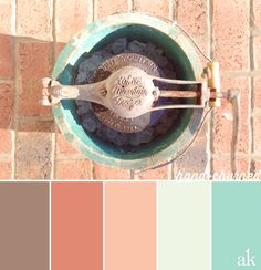 An ice-cream-churner-inspired color palette
