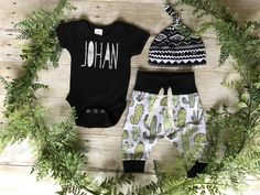 Cactus Succulent Hipster Baby Joggers Baby Leggings Baby Pants Baby Sweatpants Baby Shower Gift Harem Pants Boys Joggers Baby Sweats Unisex