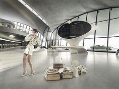 TWA Flight Center in New York architect Eero Saarinen