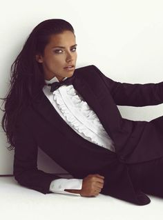 Adriana Lima by Koray Birand for Vogue Turkey May 2014 _