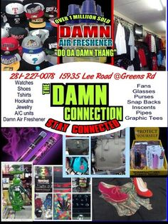 The Damn Connection Smoke is for sale as is . Fully stocked and a clientele of 2 years. $30k
