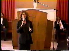 Whitney Houston With Bishop Dr. Fred Jerkins Jr. in 1998