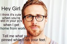 Be still, my beating heart {love} RyanGossling. :D Totally unrealistic though. ;)