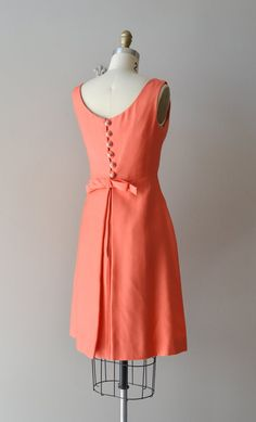 1960s dress / 60s party dress / My Girl Josephine by DearGolden, $168.00