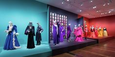 Inside the Gorgeous New Yves Saint Laurent Exhibit in Virginia - TownandCountrymag.com