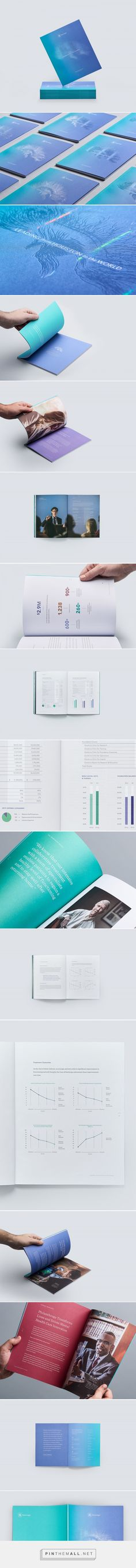 The Menninger Clinic Annual Report on Behance - created via https://pinthemall.net