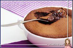 Pudim de Chocolate com Peras, da Vinni!
