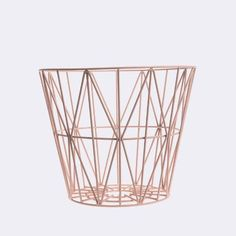 rose gold paper bin - Google Search